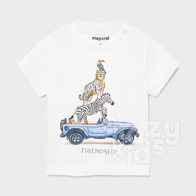 Tricou bebe friendship Mayoral