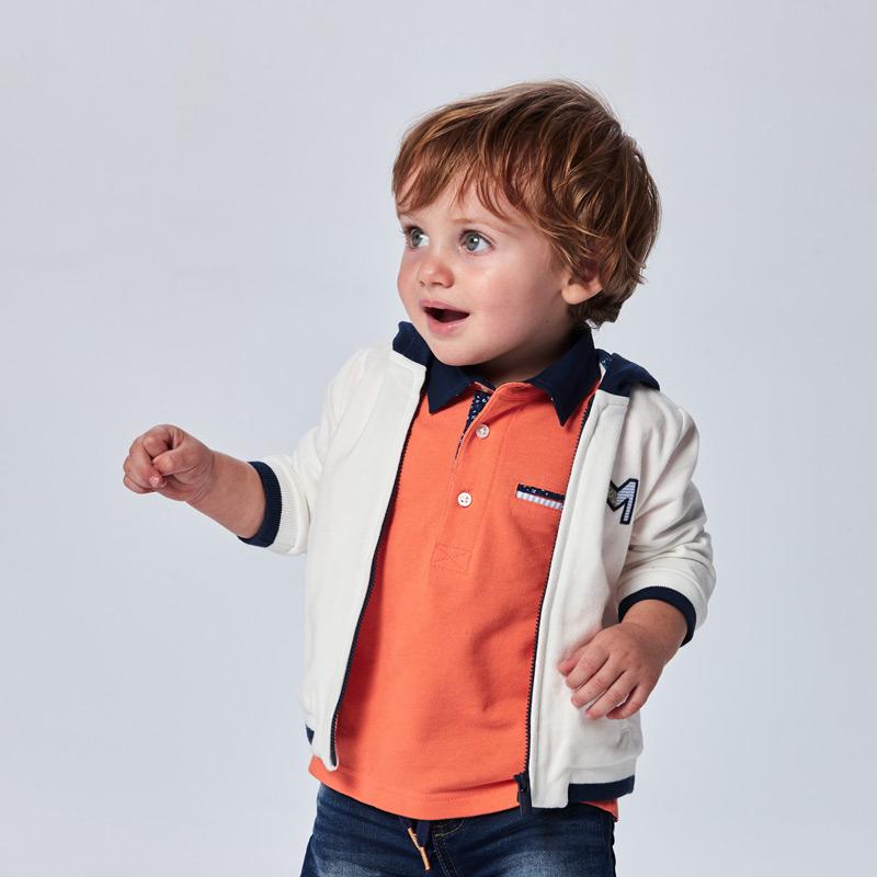 Tricou polo bebe Mayoral