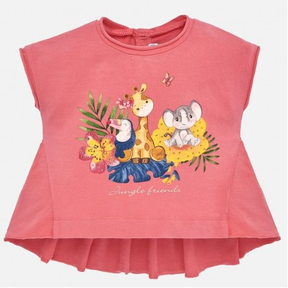 Tricou Mayoral Jungle friends pentru fata