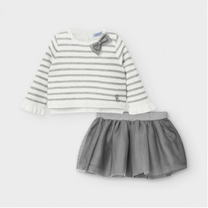 Set cu fustita tulle Mayoral bebe