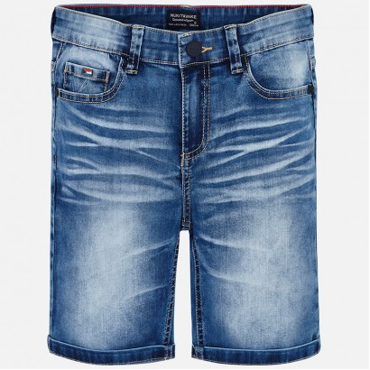 Pantaloni scurti din denim Mayoral baiat