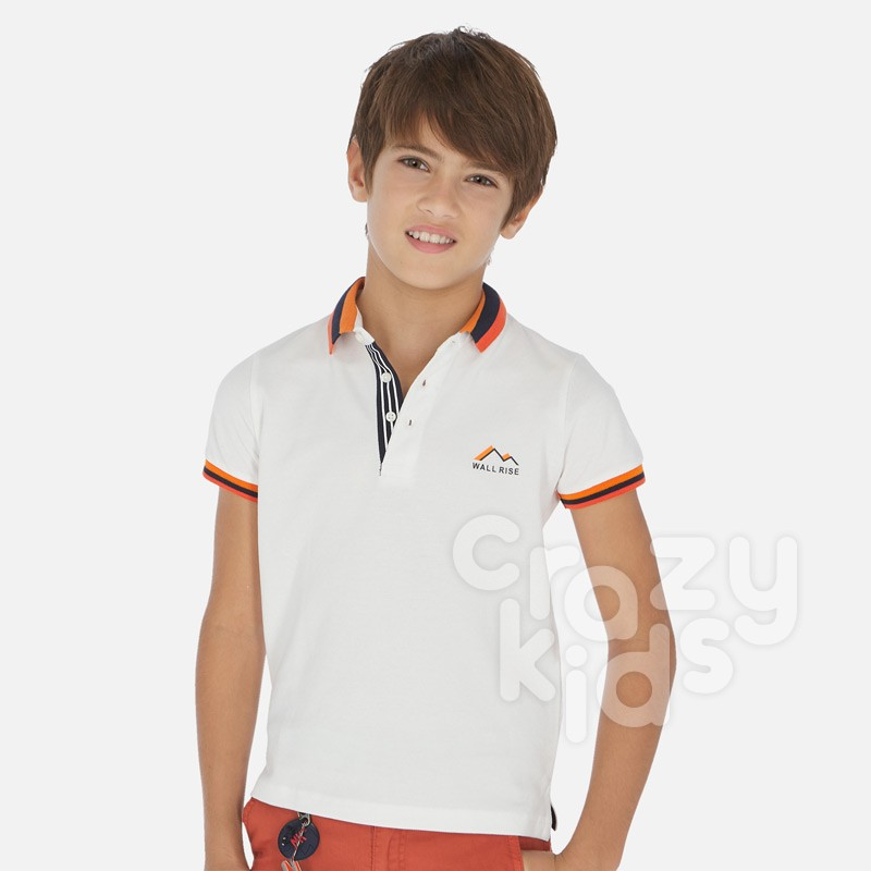 Tricou polo Mayoral Ocean brights