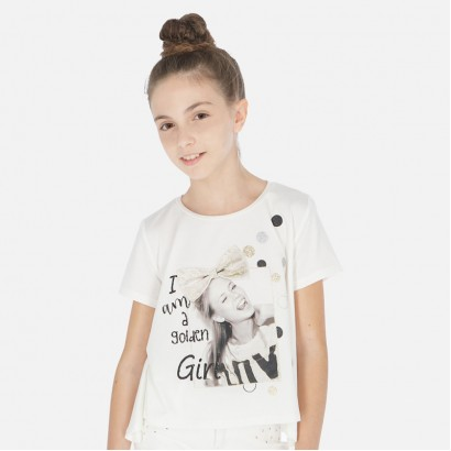 Tricou fete Mayoral A golden girl