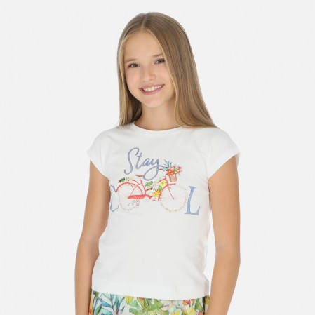 Tricou fete Mayoral Stay Cool
