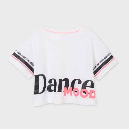 Tricou fete  Mayoral Dance mood