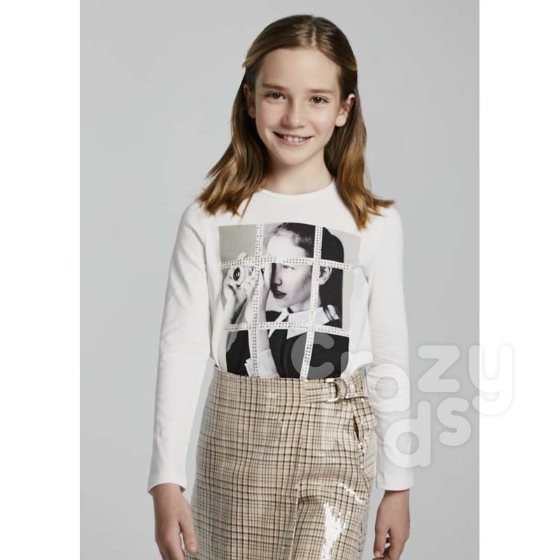 Bluza cu print Mayoral fete