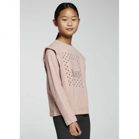 Bluza cu print Mayoral pentru fete